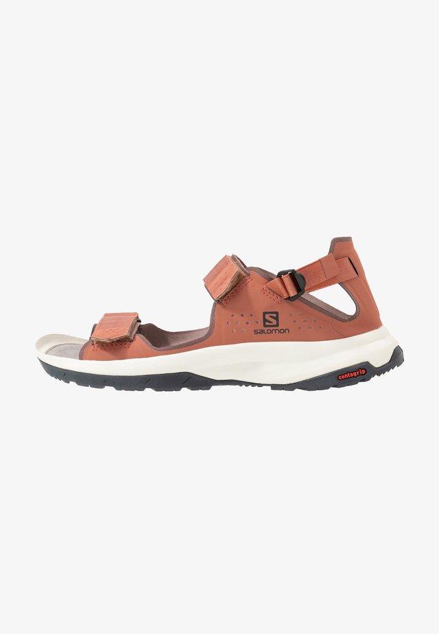 TECH FEEL - Walking sandals - cedar wood/peppercorn/ebony