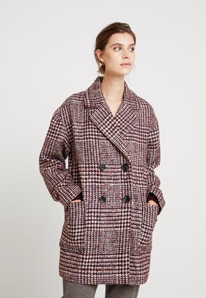 TWEEDS JACKET - Cappotto classico - bordeaux red