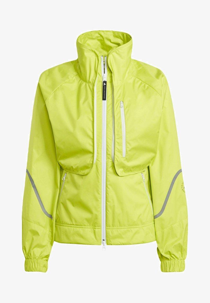 adidas by Stella McCartney - ADIDAS BY STELLA MCCARTNEY TRUEPACE TWO-IN-ONE JACKET - Training jacket - yellow
