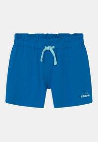 Diadora - LOGO MANIA UNISEX - Sportovní kraťasy - micro blue - 0