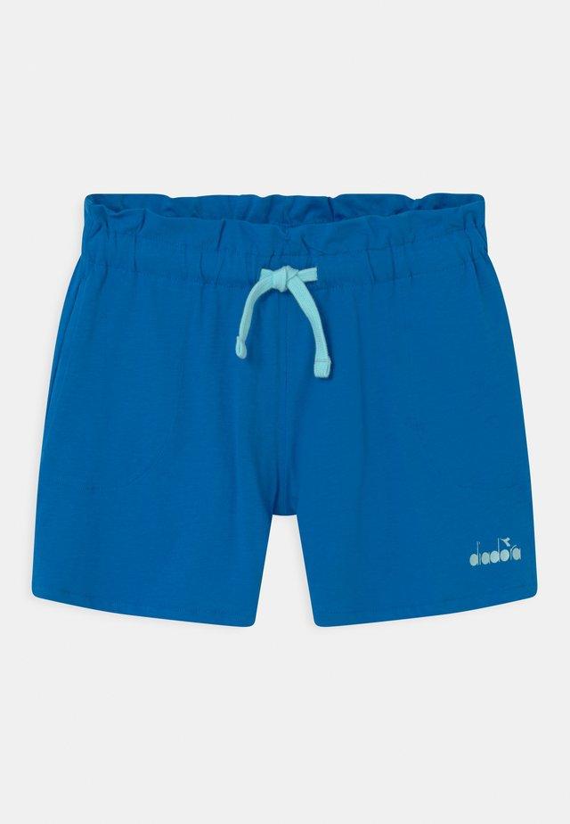 LOGO MANIA UNISEX - Korte broeken - micro blue