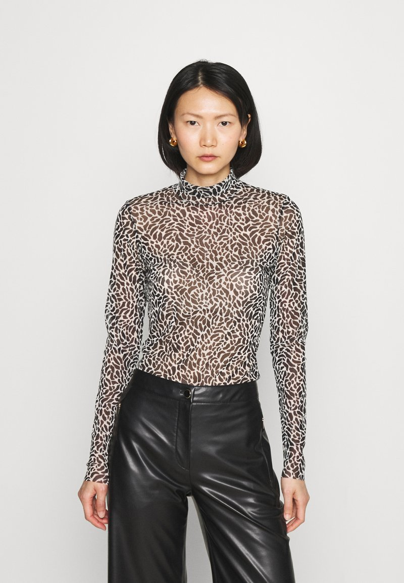Marc Cain - Long sleeved top - brown