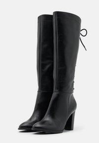 San Marina - EGO - Šněrovací vysoké boty - noir - 2