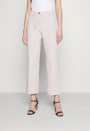STEAM TROUSER - Trousers - taupe