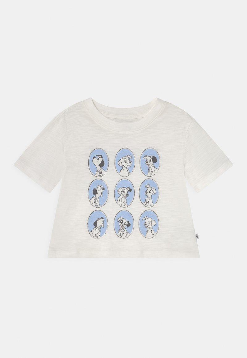 GAP - GIRL DALMATIONS - Print T-shirt - new off white