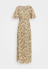 Miss Selfridge - SLEEVE BUTTON THROUGH MAXI - Day dress - light yellow - 0