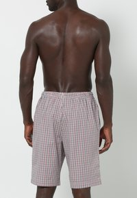 Jockey - Pantaloni del pigiama - red/white - 1