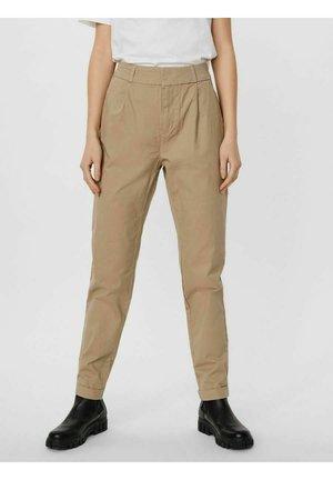 Trousers - silver mink