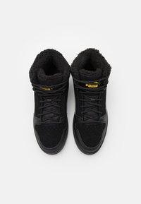 Puma - REBOUND LAYUP JR  - Sneaker high - black/ultra gray/super lemon - 3