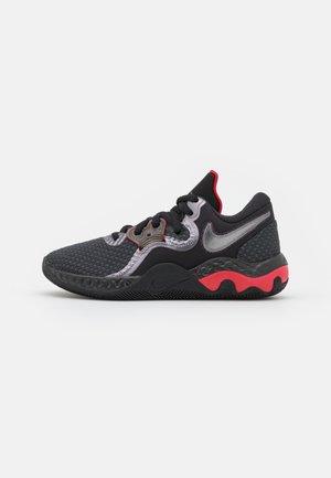 RENEW ELEVATE 2 - Basketbalové boty - anthracite/black/gym red/metallic dark grey
