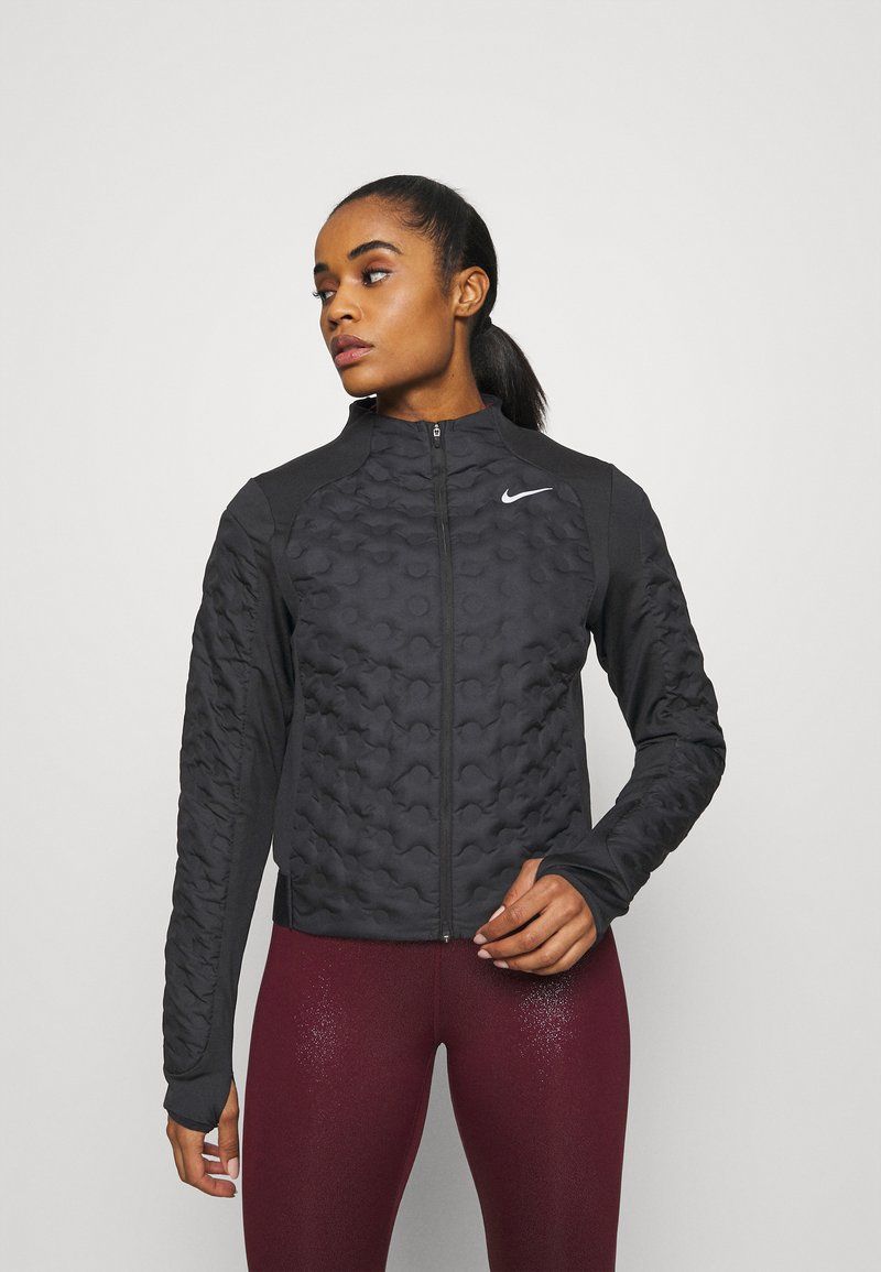 Nike Performance - Down jacket - black/silver