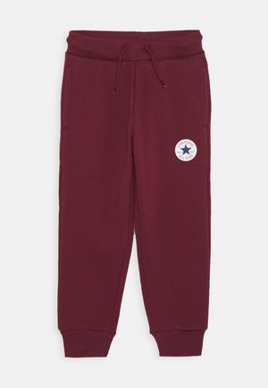CHUCK PATCH - Tracksuit bottoms - dark burgundy