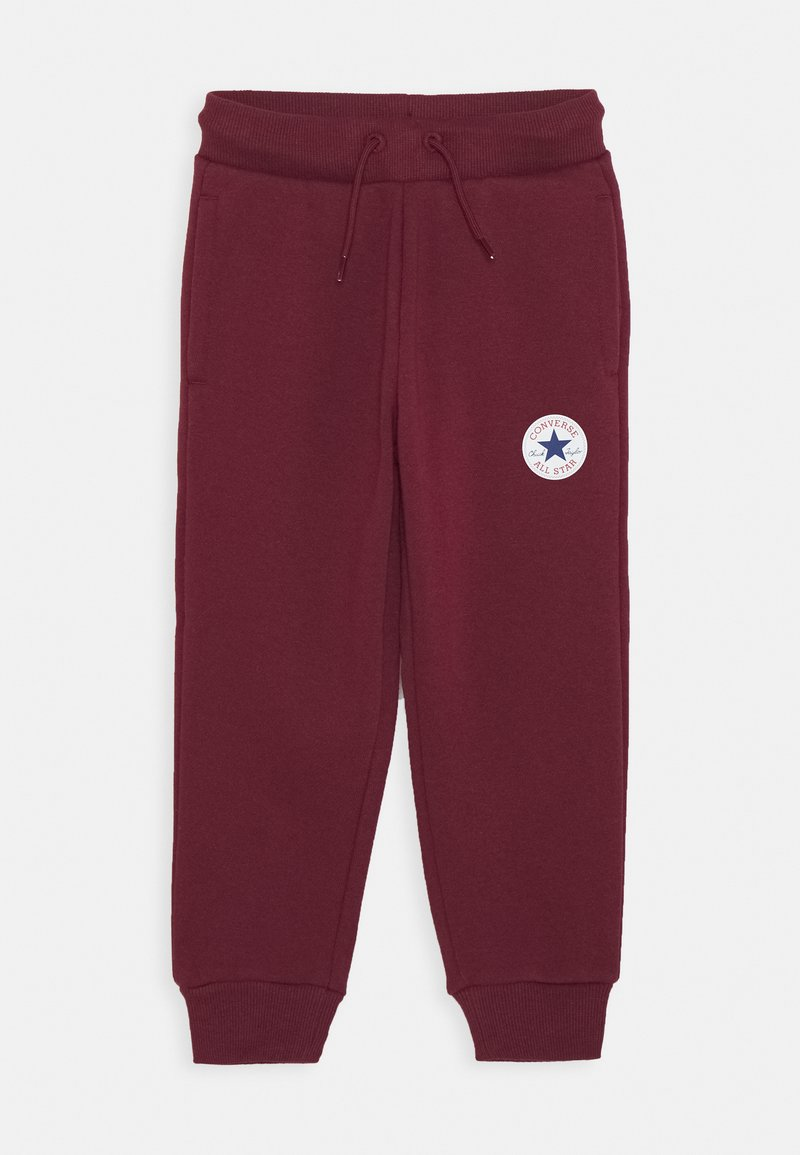 Converse - CHUCK PATCH - Tracksuit bottoms - dark burgundy