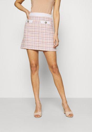 ADMIRER SKIRT - Mini skirt - ivory