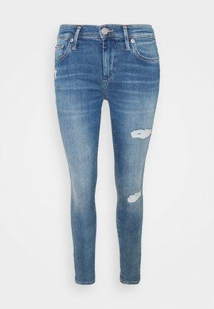 HALLE - Jeans Skinny Fit - blue denim
