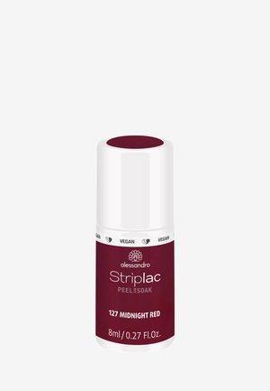 STRIPLAC PEEL OR SOAK 8ML UV-LAMP - VEGAN - Nail polish - midnight red