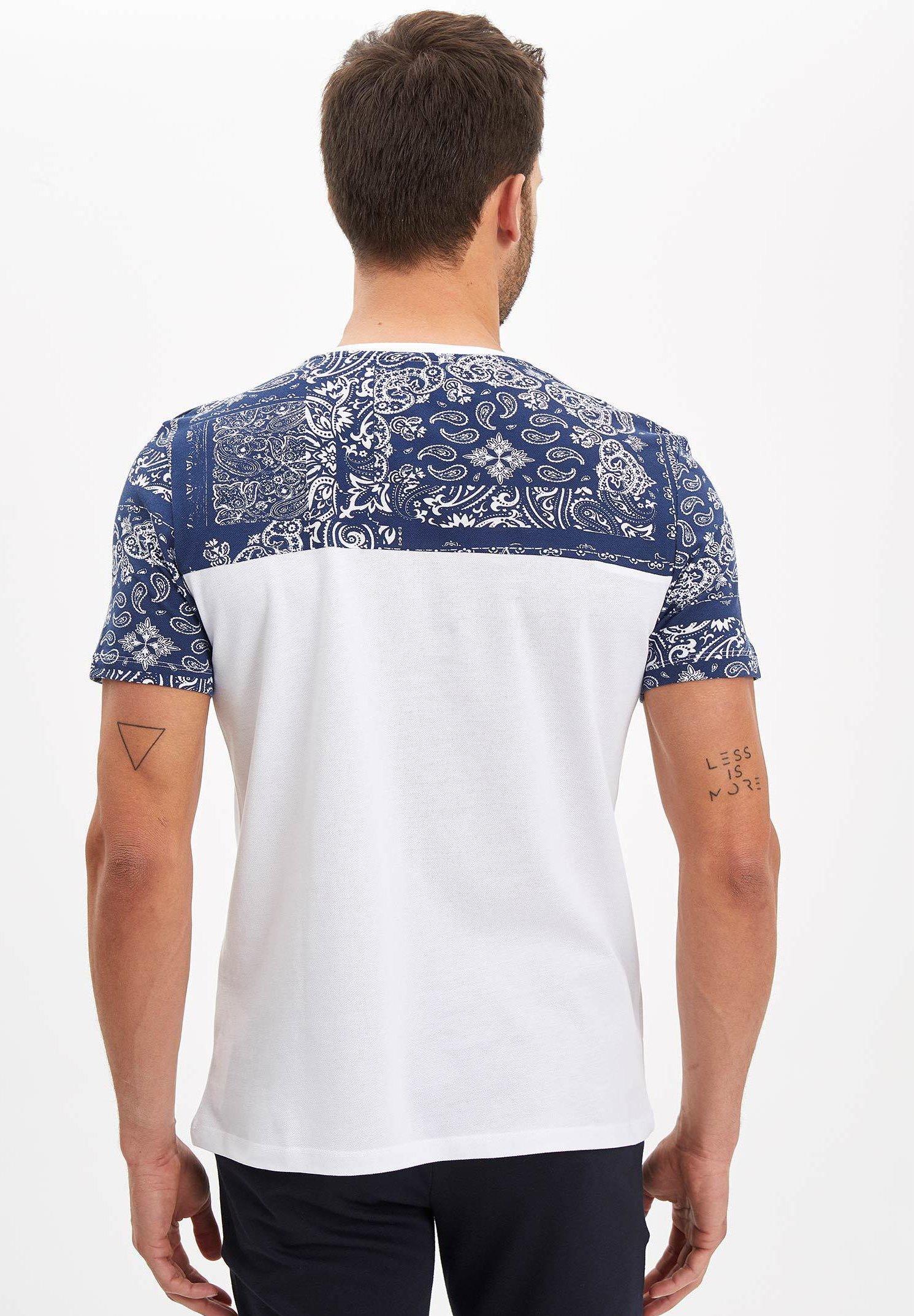 DeFacto Print T-shirt - white 1iUTt