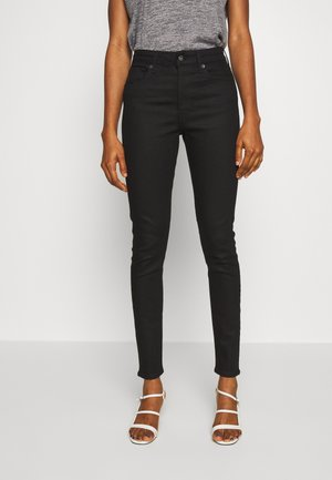 Jeansy Skinny Fit - stay black