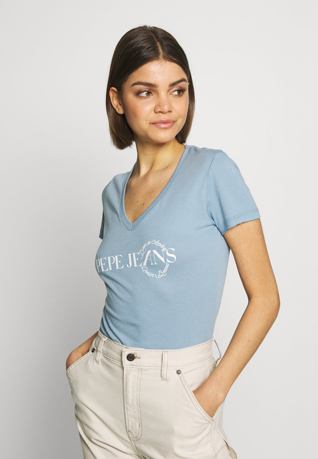 AGNES - T-shirt z nadrukiem - quay