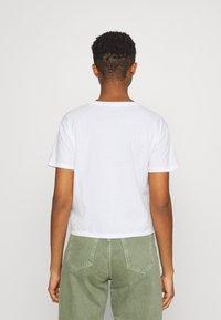 Hollister Co. - Print T-shirt - white - 2
