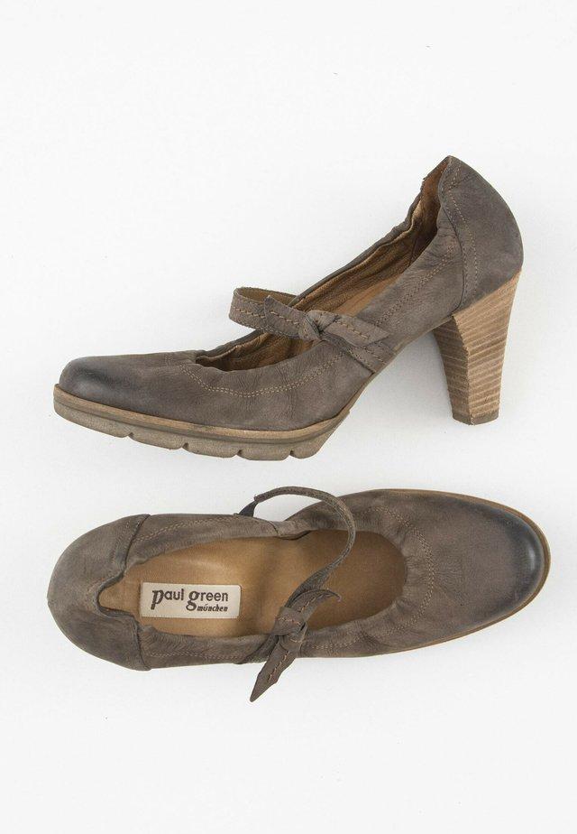 Klassieke pumps - brown