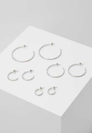 ONLPAXA HOOP 4 PACK - Earrings - silver-coloured