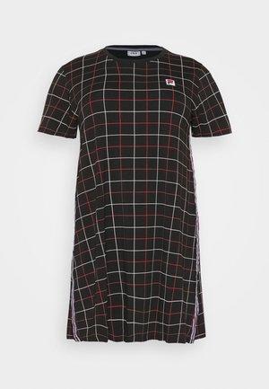 WINONA TEE DRESS - Vestito di maglina - black
