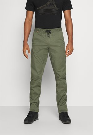 CAMIE  - Trousers - iguana