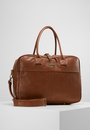 CARE JOY DIAPERBAG - Baby changing bag - cognac