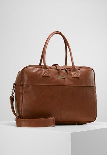 CARE JOY DIAPERBAG - Baby changing bag - cognac