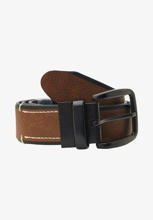 Belt - mottled brown