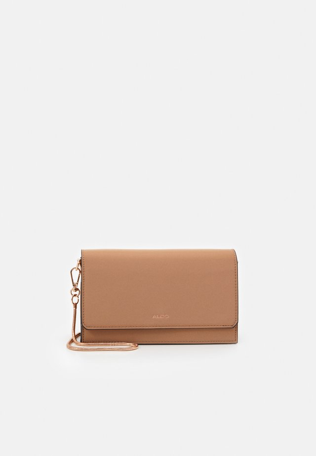 TELOPEA - Clutch - sienna/rose gold-coloured