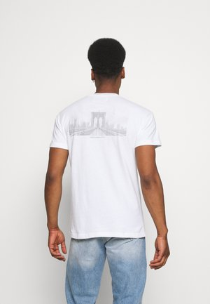 CITY IMAGERY - T-shirt print - white