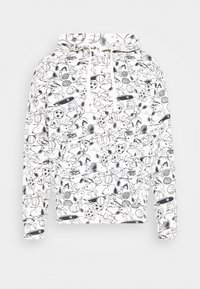 Levi's® - T3 RELAXD GRAPHIC HOODIE UNISEX - Luvtröja - white - 4