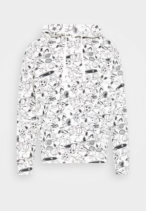 T3 RELAXD GRAPHIC HOODIE - Sweat à capuche - white