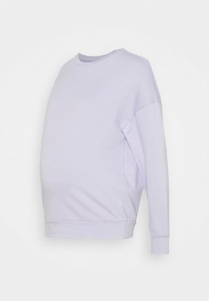 PCMRELAX BLOUSE - Sweatshirt - purple heather/melange