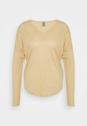 ANGLA BATWING - Long sleeved top - warm sand