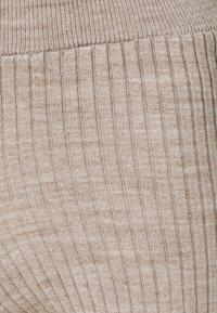 New Look Petite - WIDE LEG TROUSER - Bukse - stone - 2
