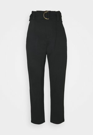 MODERN PONTE - Trousers - black