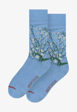 VINCENT VAN GOGH: ALMOND BLOSSOM - Sokken - blue