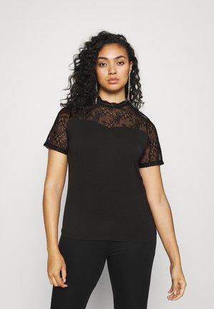 PCPINA - T-shirt med print - black