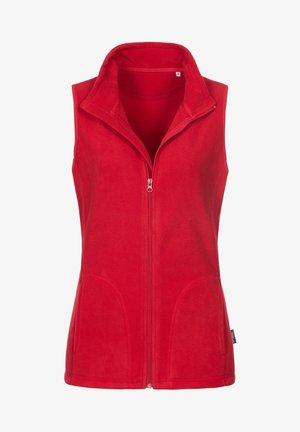Waistcoat - scarlet red