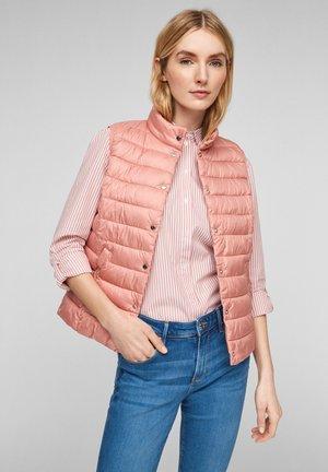 Waistcoat - light blush