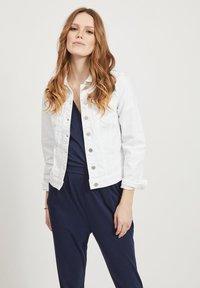 Vila - VISHOW - Denim jacket - snow white - 0