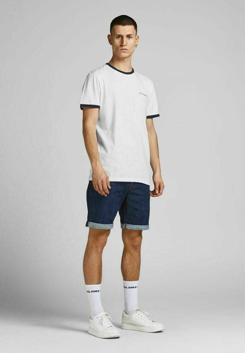 Jack & Jones - 3 PACK - Print T-shirt - white