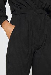 New Look - ELASTIC HEM SET - Sweatshirt - black - 7