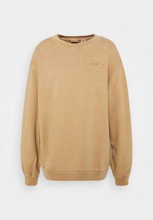 MELROSE SLOUCHY CREW - Sweatshirt - incense garment