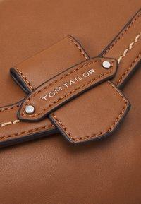 TOM TAILOR - GABRIELA - Across body bag - cognac - 3