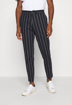JPRBLATROPICAL TROUSER - Trousers - dark navy