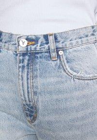 Abrand Jeans - VENICE - Straight leg jeans - aqua aura - 4